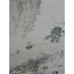 溪山會友(68*46Cm)