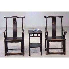 明式平切大四椅一套,規格:高116、長60、寬、50,材質:榆木,皮克完美,牢固(au22373502)_7788收藏__收藏熱線