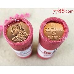 巴拿馬1分硬幣一卷50枚(二)(zc22373526)_7788收藏__收藏熱線