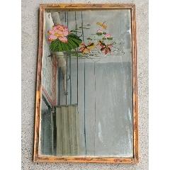 連年有余《玻璃鏡》-¥60 元_玻璃鏡_7788網