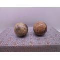 化石手球一對,直徑5.5CM,有包漿,底價拍(zc22456638)_7788舊貨商城__七七八八商品交易平臺(7788.com)