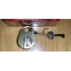 有鑰匙帶英文商標精美圓銅鎖(*8)(au22456934)_7788舊貨商城__七七八八商品交易平臺(7788.com)