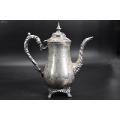 (P5897)《美國鎏銀壺》一件咖啡壺鍍銀壺底部有款(zc26832061)_7788收藏__收藏熱線
