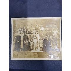 民国时期大尺寸结婚全家照(au23222911)_7788收藏__收藏热线