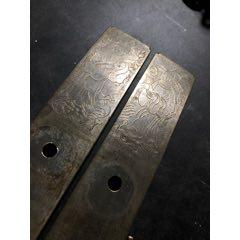 老铜镀银配件一对,刻工一流,品相完整!(au23225235)_7788收藏__收藏热线