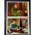 文革毛主席画片;四个伟大;毛主席万岁!不同两份合售!广州版(au23236685)_7788收藏__收藏热线