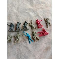 經典懷舊老式塑料玩具兵人人偶塑料老玩具一組(au24435230)_7788舊貨商城__七七八八商品交易平臺(7788.com)