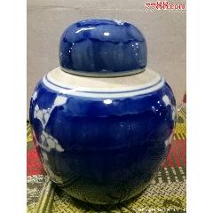 藍釉冰梅罐〈流拍〉(au24919200)_7788舊貨商城__七七八八商品交易平臺(7788.com)