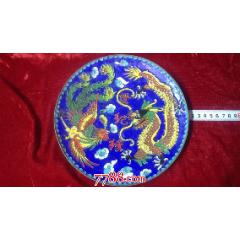 《世紀緣》銅胎掐絲琺瑯盤(au24985625)_7788舊貨商城__七七八八商品交易平臺(7788.com)