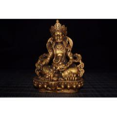 琉璃鎏金黃財神佛像,高12.5厘米,寬8厘米,重446克,(au25105986)_7788舊貨商城__七七八八商品交易平臺(7788.com)
