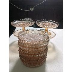 14件玻璃盤(au25118912)_7788舊貨商城__七七八八商品交易平臺(7788.com)