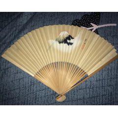 日本富士山手繪折扇扇子年生產茶道(au25139149)_7788舊貨商城__七七八八商品交易平臺(7788.com)