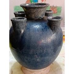 藍釉五管瓶(au25142418)_7788舊貨商城__七七八八商品交易平臺(7788.com)