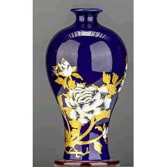 現代工藝品--大型瓷器花瓶高22厘米(au25145344)_7788舊貨商城__七七八八商品交易平臺(7788.com)