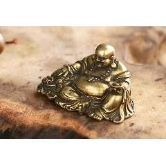現代工藝品--黃銅銅器彌勒佛像擺件直徑5厘米(au25146746)_7788舊貨商城__七七八八商品交易平臺(7788.com)