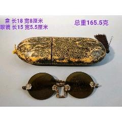 鯊魚皮眼鏡盒眼鏡一套做工精細,品相完美!極具收藏和欣賞價值!(zc25147884)_7788舊貨商城__七七八八商品交易平臺(7788.com)