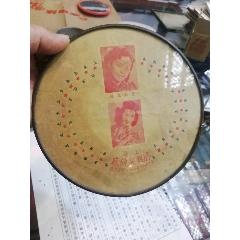 民國圓鏡,背有2位美女,上海騰興制鏡廠,直徑18厘米(au25148230)_7788舊貨商城__七七八八商品交易平臺(7788.com)
