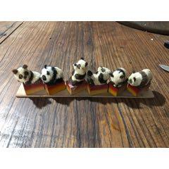裘毛全手工制作的熊貓卷筆刀一組,應該是當時的樣品(au25151265)_7788舊貨商城__七七八八商品交易平臺(7788.com)
