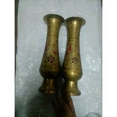 一對銅瓶擺件(au25153802)_7788舊貨商城__七七八八商品交易平臺(7788.com)