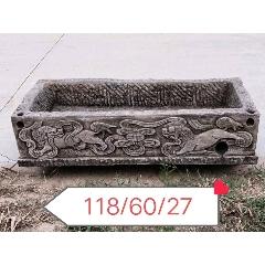 清代老青石石盆,四面工,完好漂亮。(au25157877)_7788舊貨商城__七七八八商品交易平臺(7788.com)