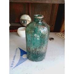 懷舊50年代老浮雕繁體字912公升玻璃瓶(au25197188)_7788舊貨商城__七七八八商品交易平臺(7788.com)