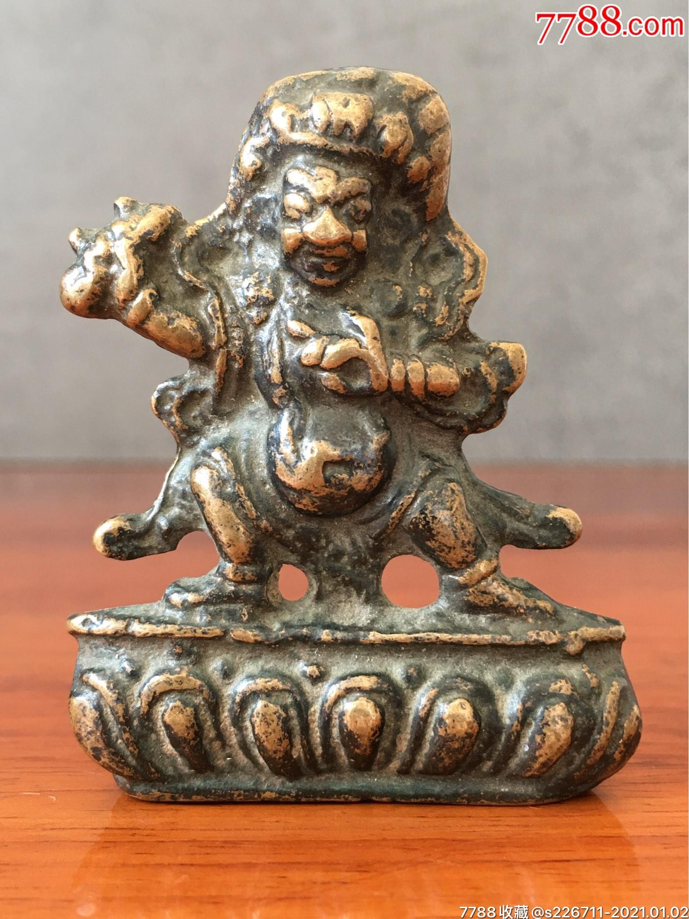 清早期单面天神像(au25233768)_7788旧货商城__七七八八商品交易平台(7788.com)