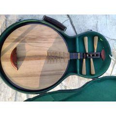 老式月琴帶盒,缺一塊橫檔,品相良好(au25252965)_7788舊貨商城__七七八八商品交易平臺(7788.com)