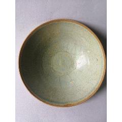 元代青釉瓷碗高5.5寬26.5公分(au25279660)_7788舊貨商城__七七八八商品交易平臺(7788.com)