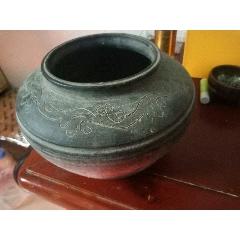 早期舊收藏清代老黑釉罐子(au25301330)_7788舊貨商城__七七八八商品交易平臺(7788.com)