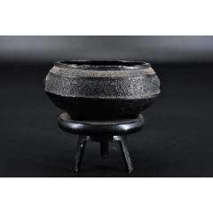 (P9461)《日本南部鐵器灰皿》一件帶支架灰皿香爐擺件造型獨特木質(au25334151)_7788舊貨商城__七七八八商品交易平臺(7788.com)