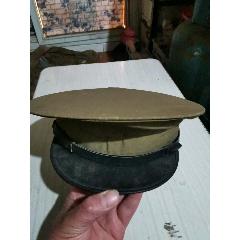 1950年軍帽一頂十1950年中國人民解放軍胸標一枚。(au25339248)_7788舊貨商城__七七八八商品交易平臺(7788.com)