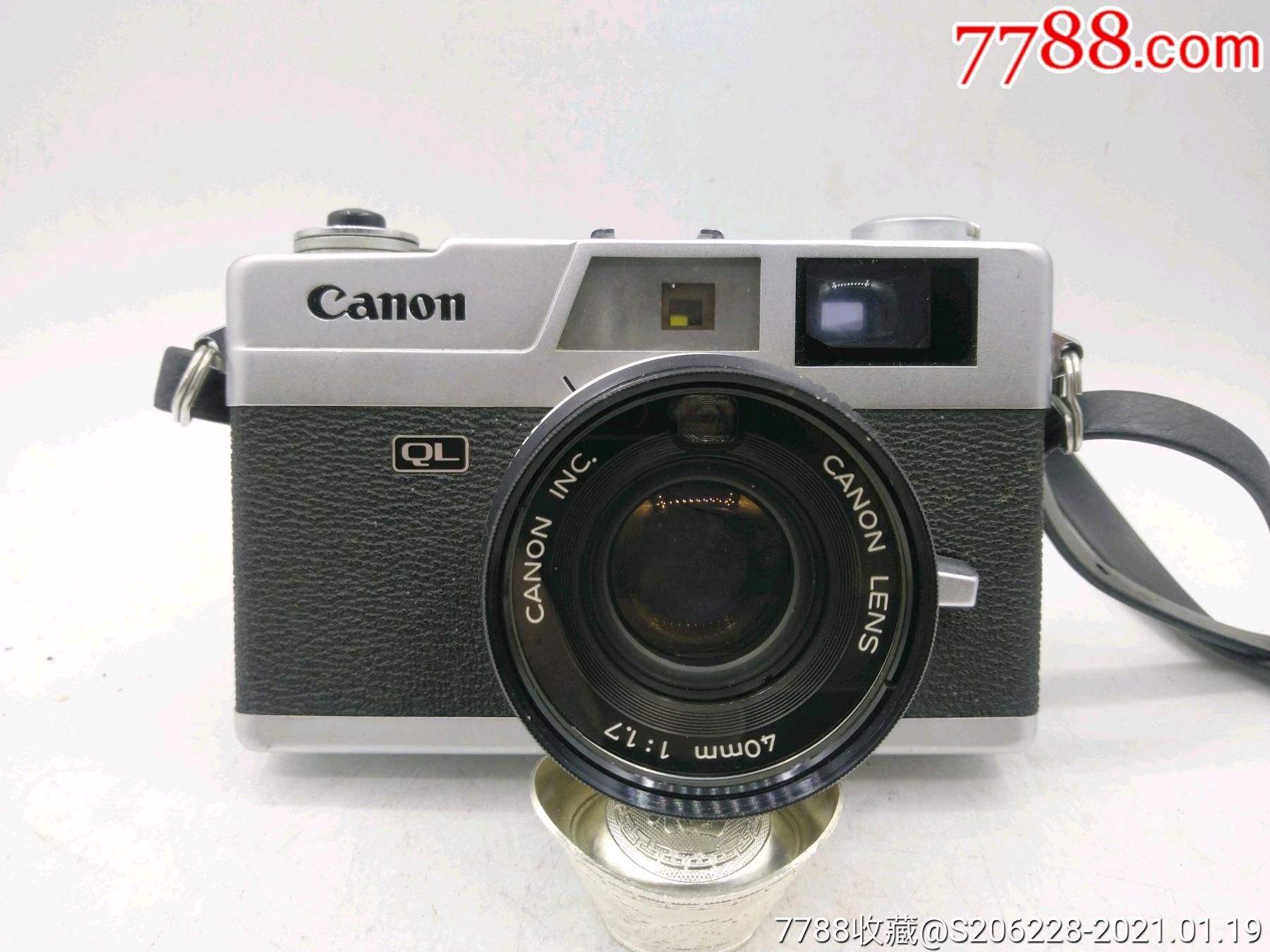 229★Canon_Canonet-QL17旁軸相機/機身編號:643049_價格260元_第1張_