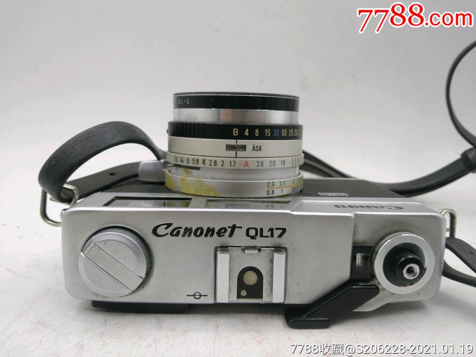 229★Canon_Canonet-QL17旁軸相機/機身編號:643049_價格260元_第2張_