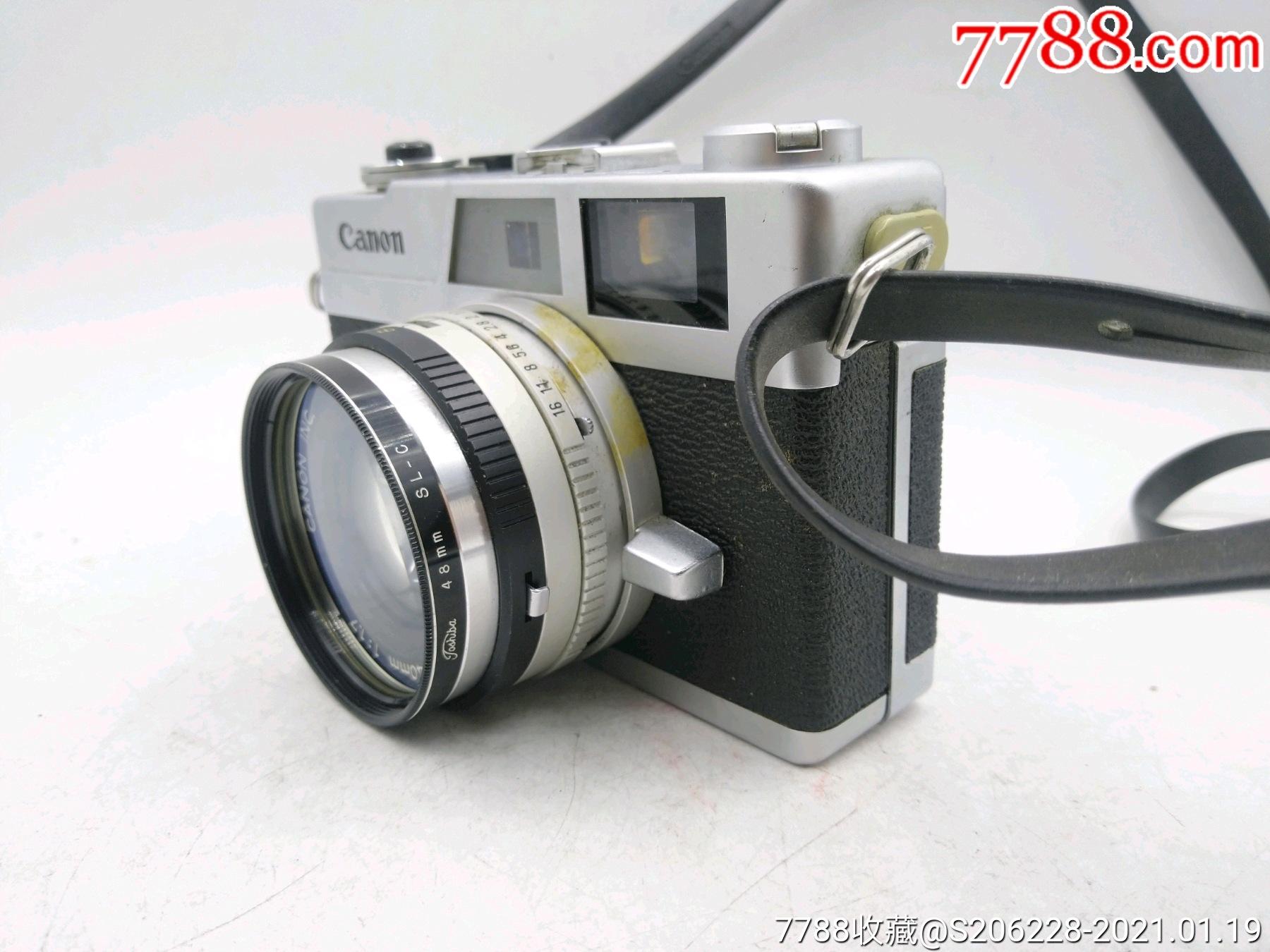 229★Canon_Canonet-QL17旁軸相機/機身編號:643049_價格260元_第3張_