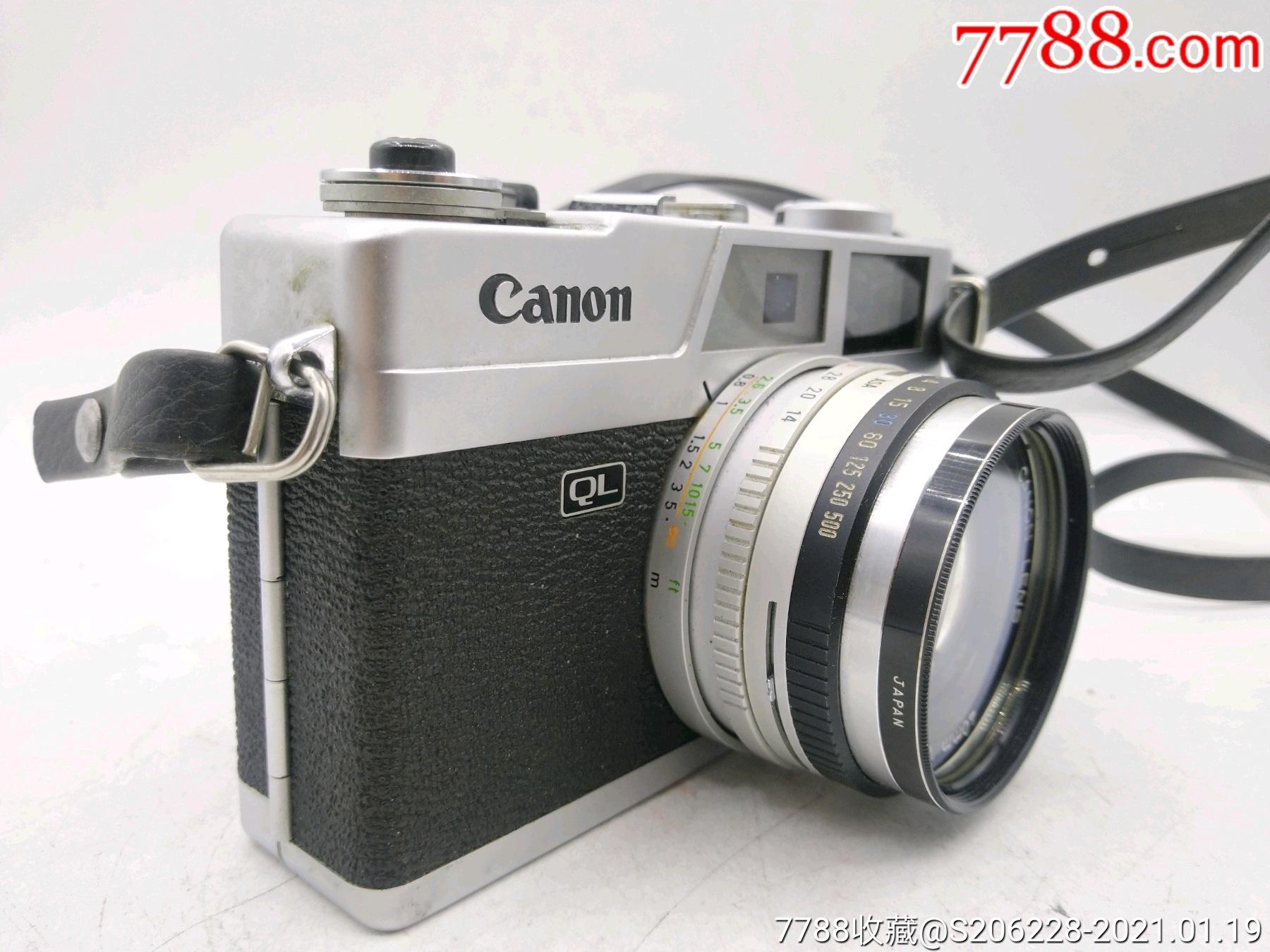 229★Canon_Canonet-QL17旁軸相機/機身編號:643049_價格260元_第4張_