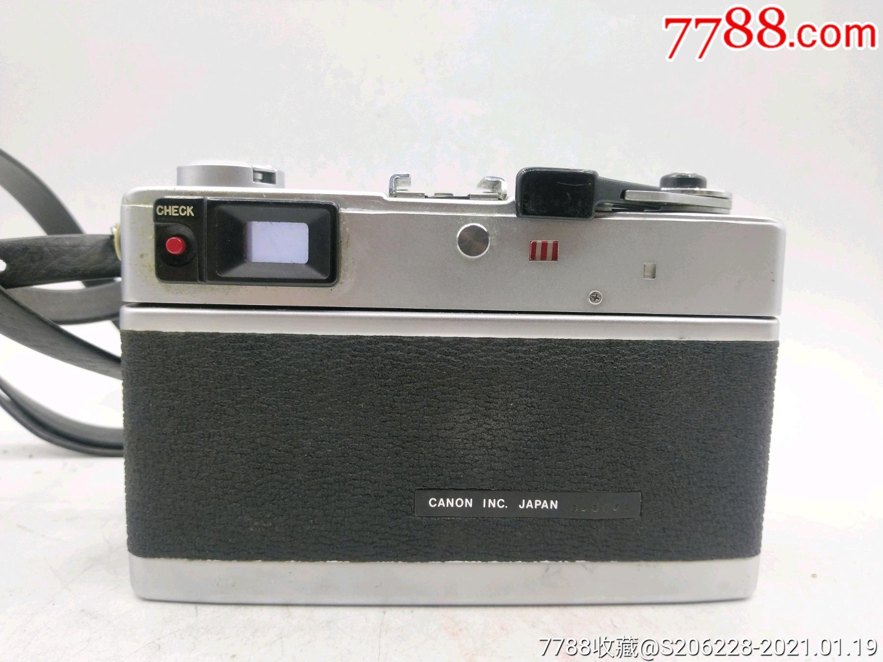 229★Canon_Canonet-QL17旁軸相機/機身編號:643049_價格260元_第5張_