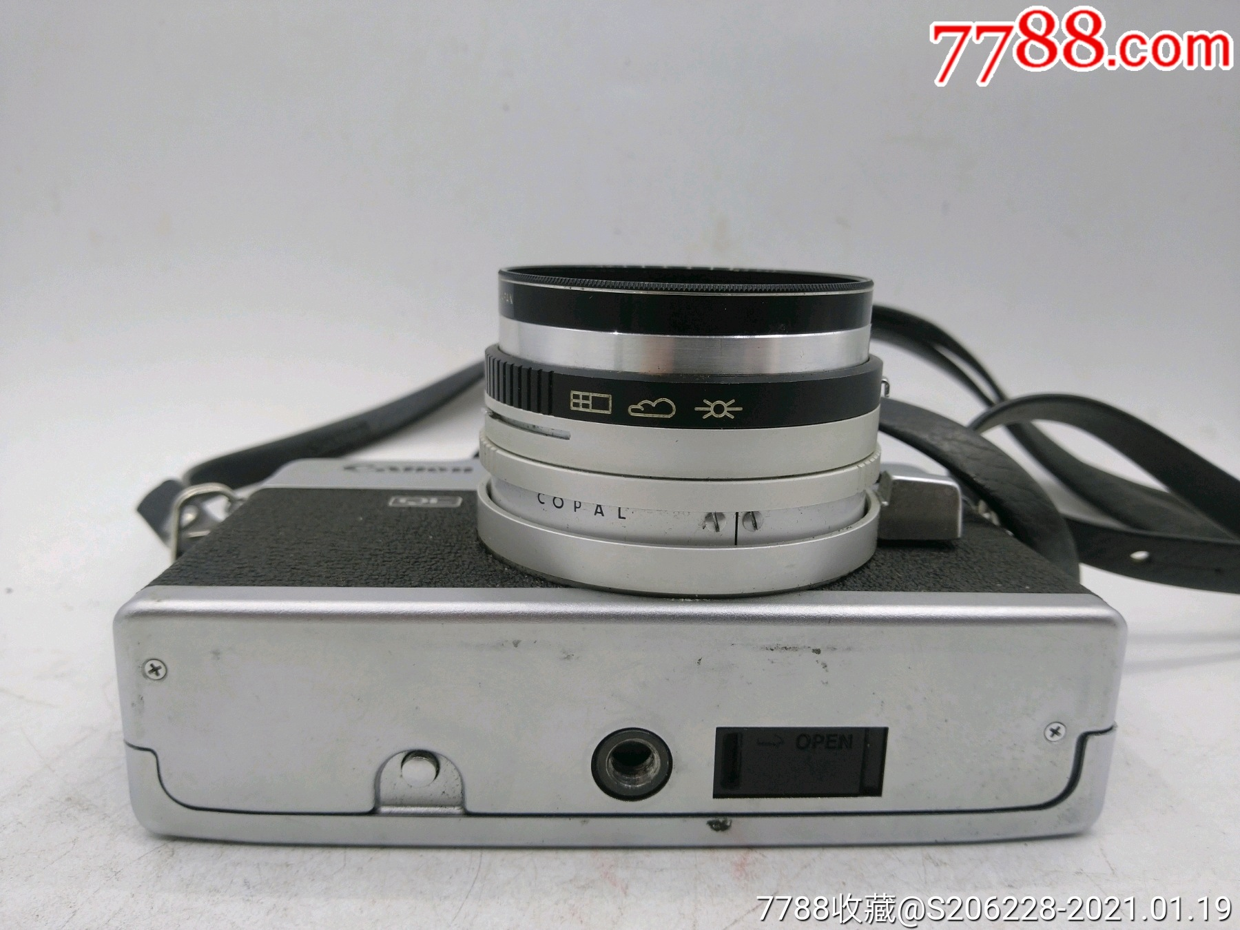 229★Canon_Canonet-QL17旁軸相機/機身編號:643049_價格260元_第7張_