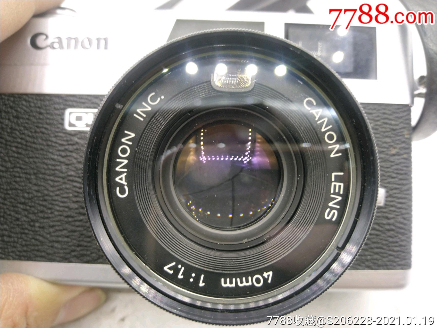 229★Canon_Canonet-QL17旁軸相機/機身編號:643049_價格260元_第8張_
