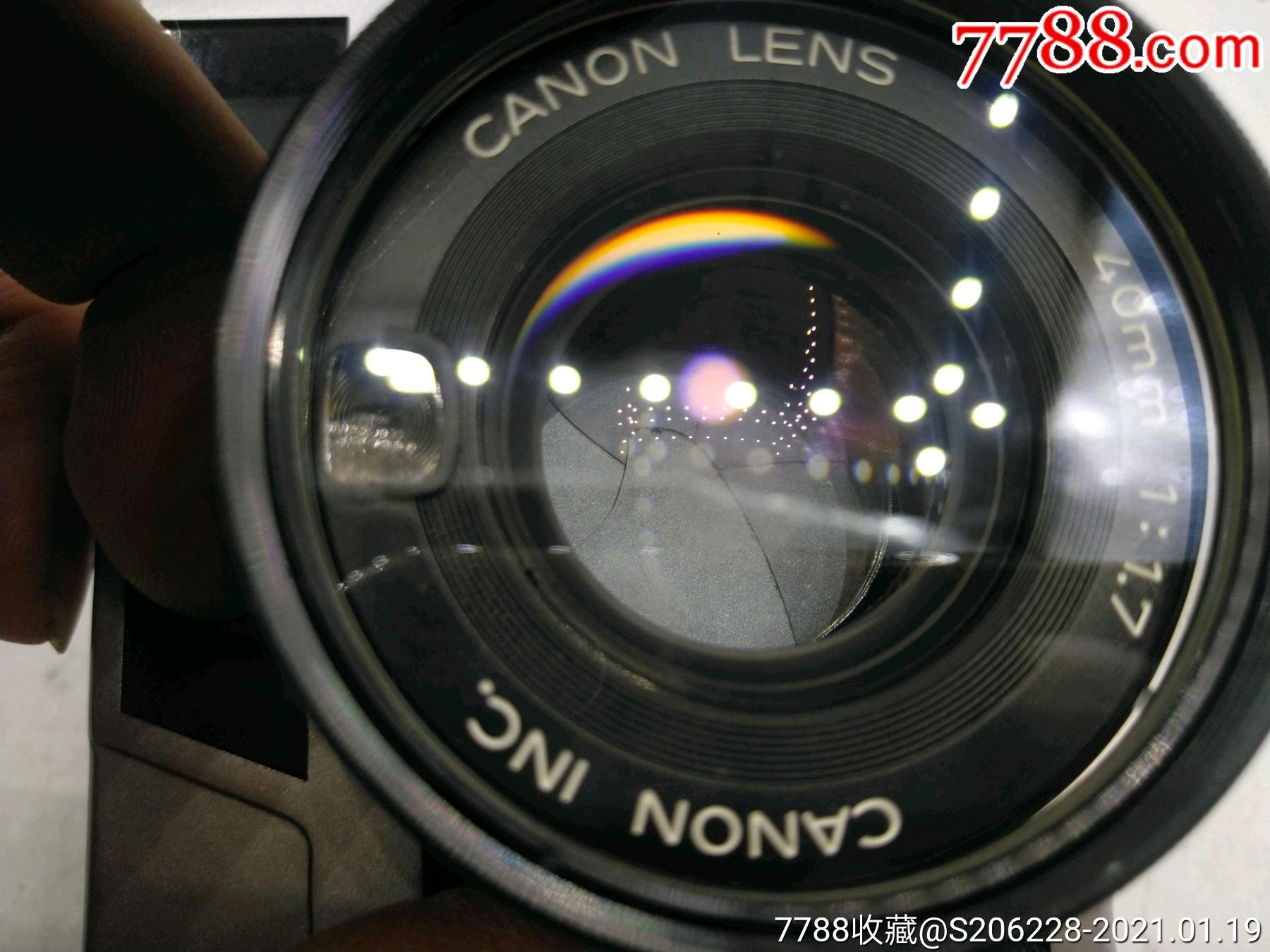 229★Canon_Canonet-QL17旁軸相機/機身編號:643049_價格260元_第10張_