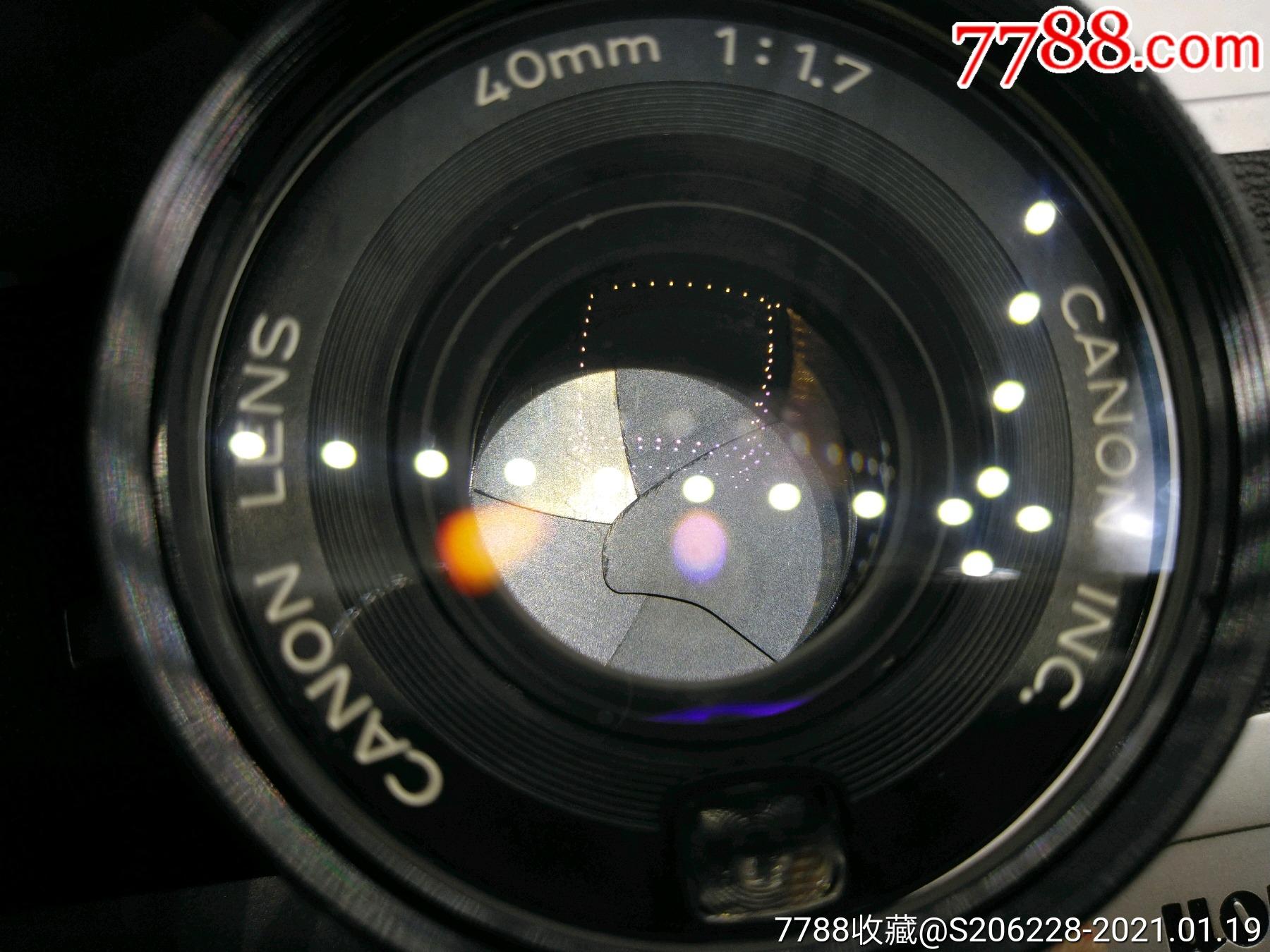 229★Canon_Canonet-QL17旁軸相機/機身編號:643049_價格260元_第11張_