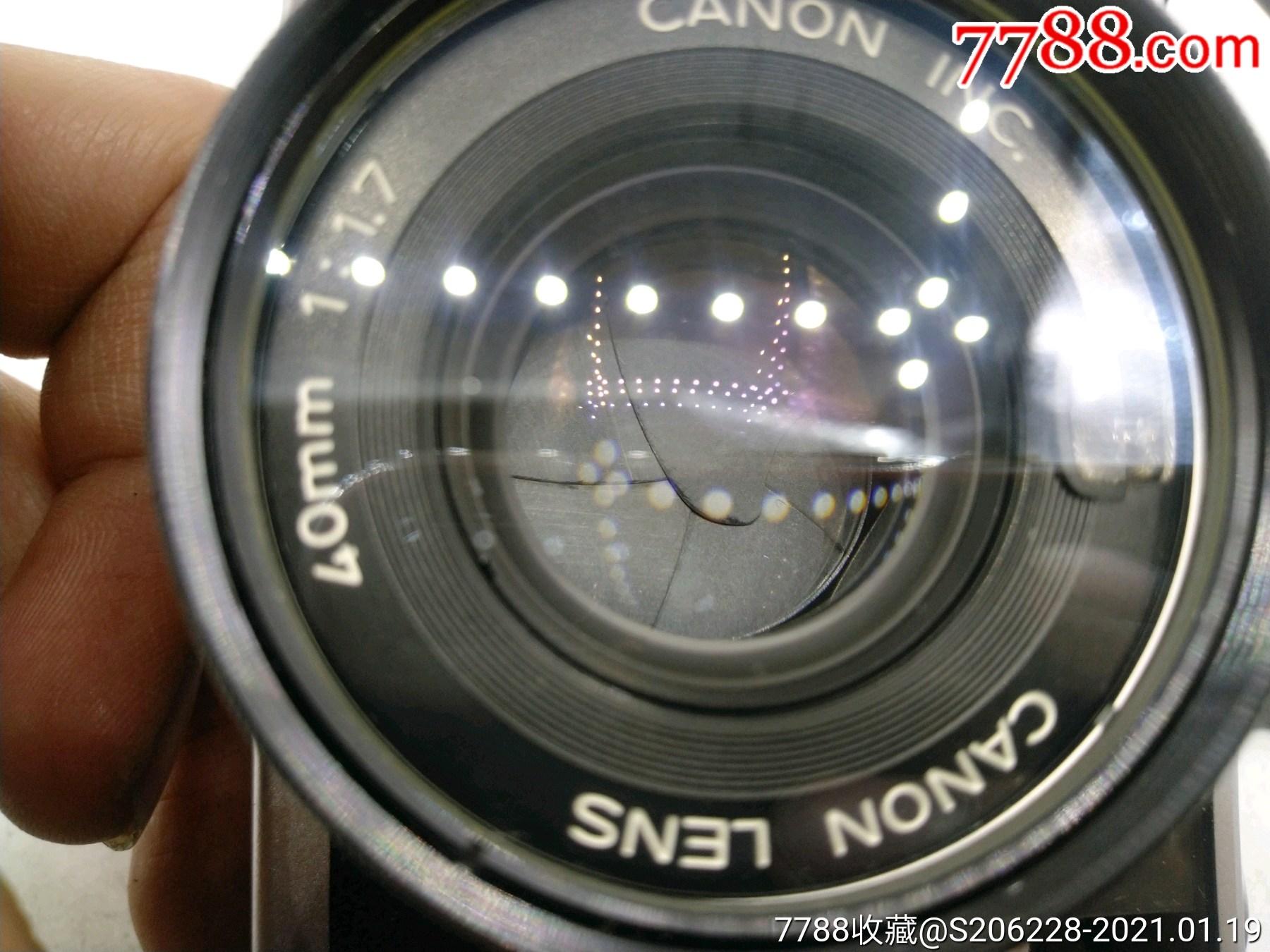 229★Canon_Canonet-QL17旁軸相機/機身編號:643049_價格260元_第12張_