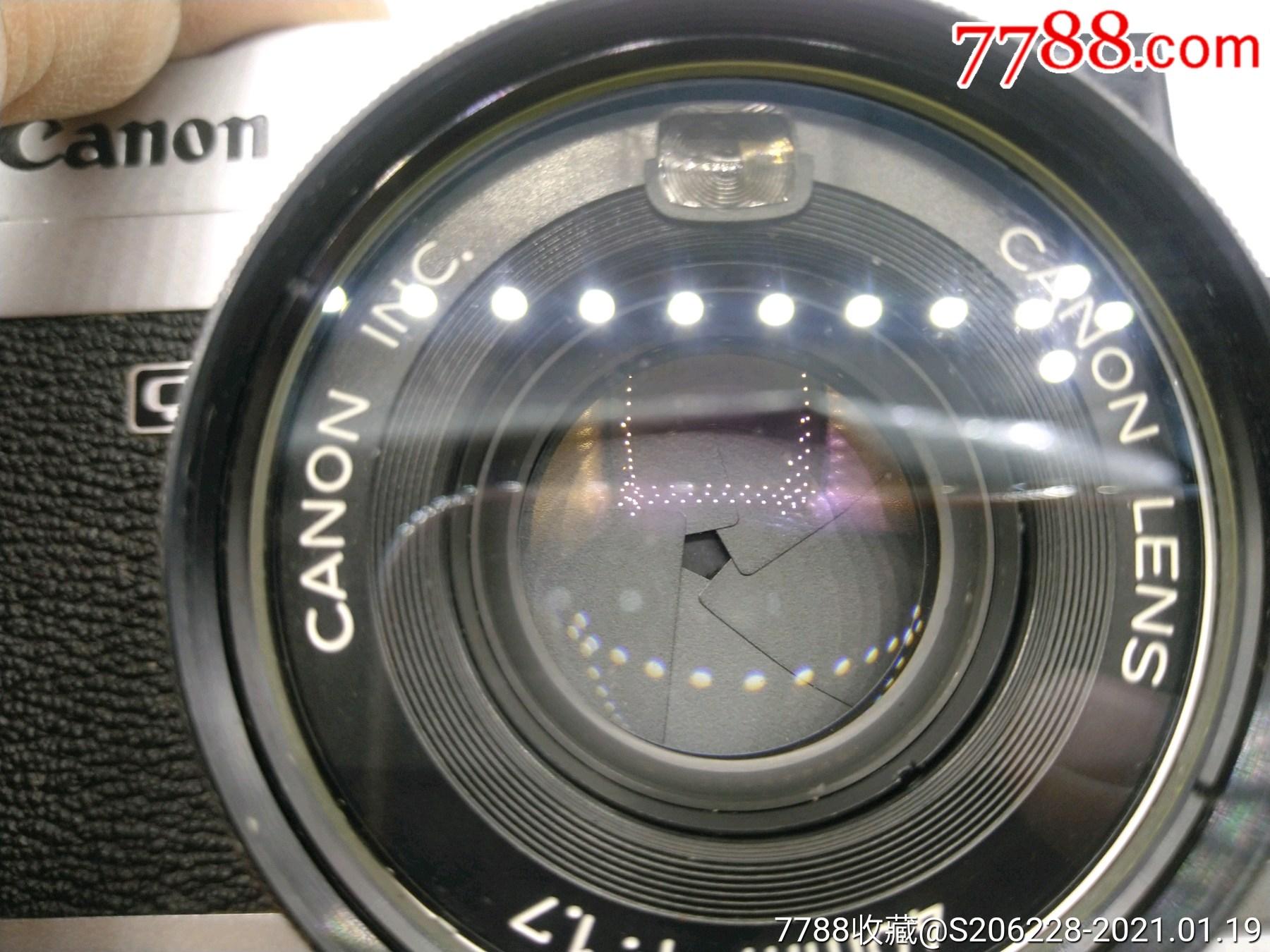 229★Canon_Canonet-QL17旁軸相機/機身編號:643049_價格260元_第13張_