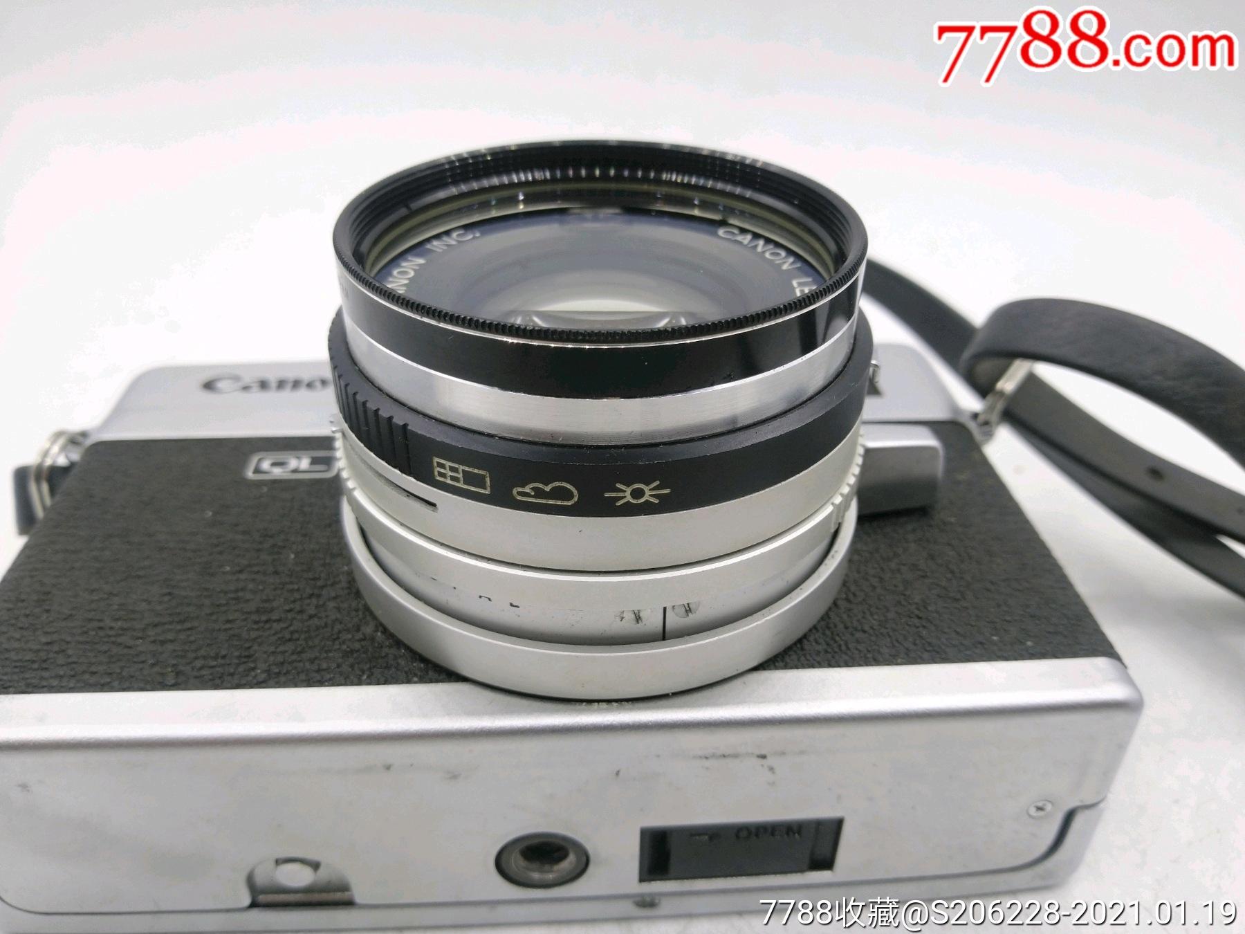 229★Canon_Canonet-QL17旁軸相機/機身編號:643049_價格260元_第14張_