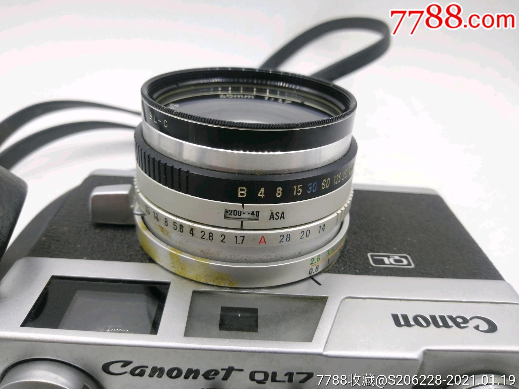 229★Canon_Canonet-QL17旁軸相機/機身編號:643049_價格260元_第16張_