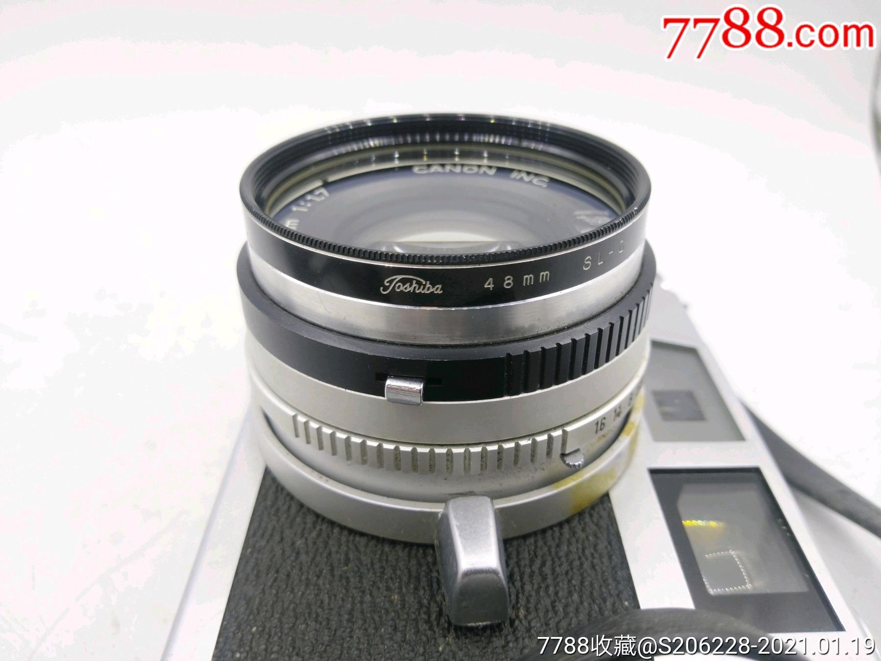 229★Canon_Canonet-QL17旁軸相機/機身編號:643049_價格260元_第17張_