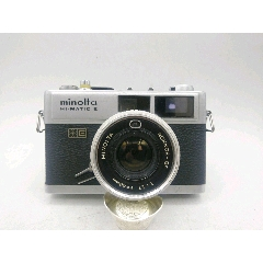 245★minolta_HI-MATIC-E旁軸相機/機身編號:217950