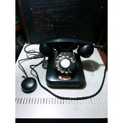"""73年,膠木撥盤電話機,一套,難得帶本機""""機歷卡""""(au25424244)_7788舊貨商城__七七八八商品交易平臺(7788.com)"""
