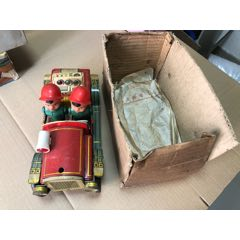 懷舊鐵皮玩具-----消防車玩具ME699【春節快樂】(au25426607)_7788舊貨商城__七七八八商品交易平臺(7788.com)