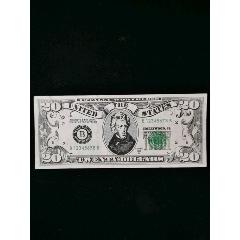 1993年美元20元紙幣(au25433216)_7788舊貨商城__七七八八商品交易平臺(7788.com)