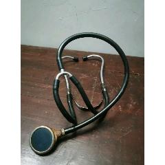 老式聽診器一個。聽心跳心臟。診所醫院醫生診斷儀器機器類。(au25438392)_7788舊貨商城__七七八八商品交易平臺(7788.com)